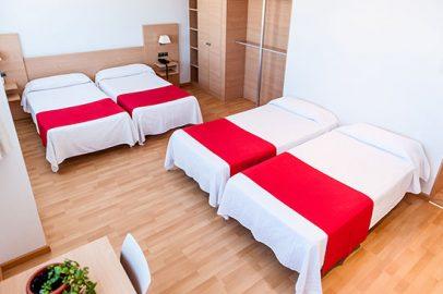 habitacion cuadruple hotel bag de castellon