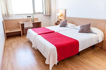 habitacion doble hotel bag